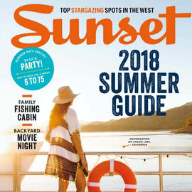 Sunset Magazine, 2018 Summer Guide