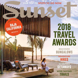 Sunset Magazine, 2018 Travel Awards