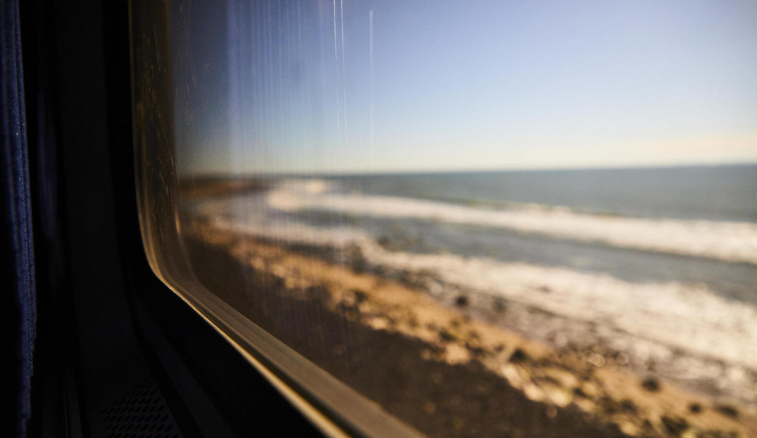 Pacific Surfliner Beach View