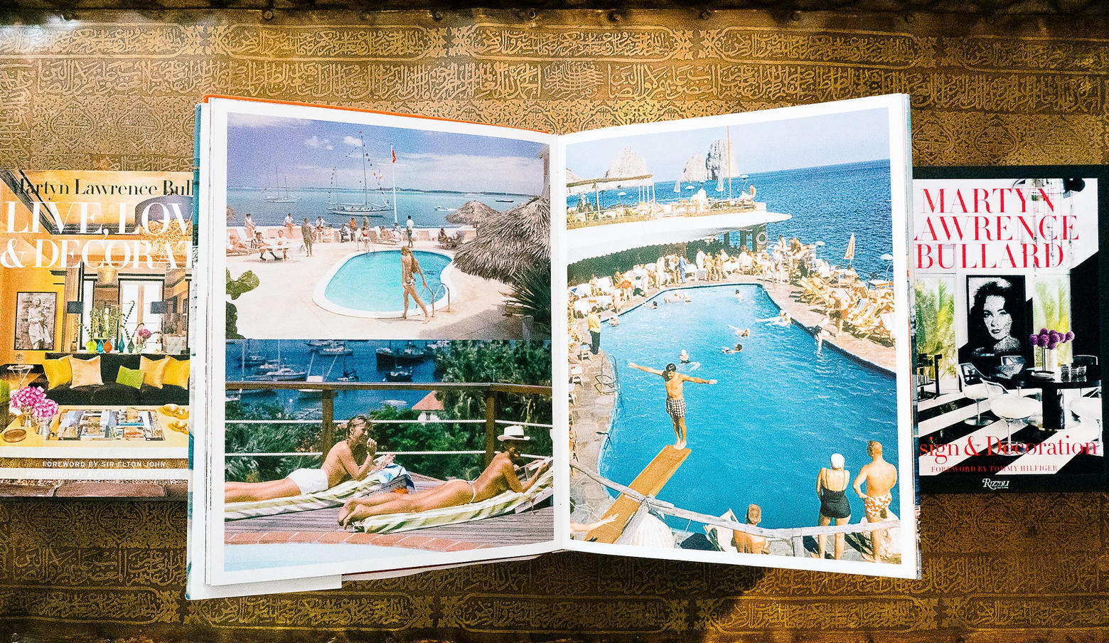 Slim Aarons Cocktail Table Book