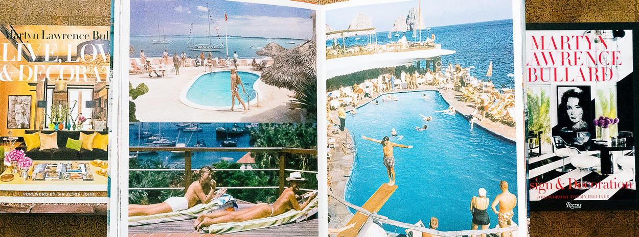 Slim Aarons book djinn