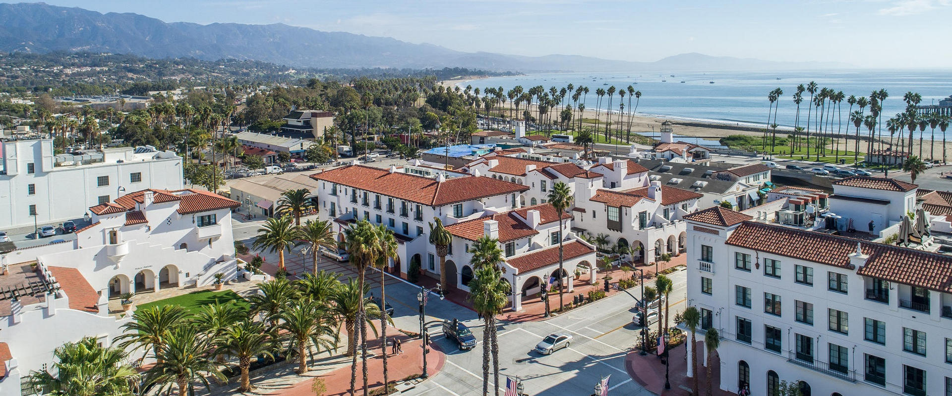 Hotel Californian with Santa Barbara beach views