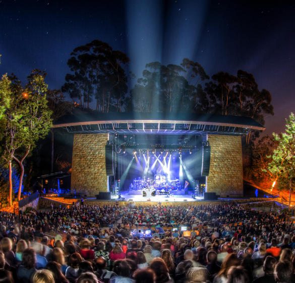 Music event at the Santa Barbara Bowl