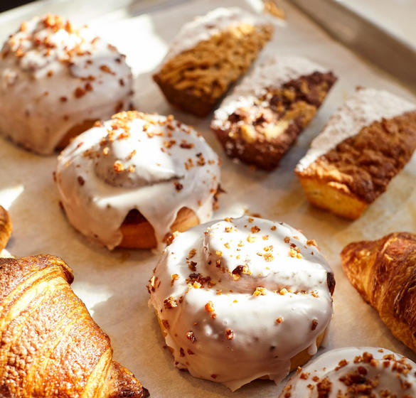 Pastries prepared daily