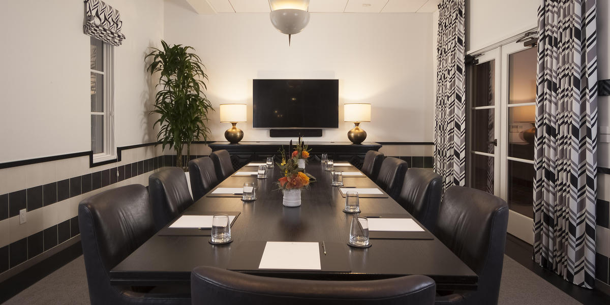 Meeting space at Hotel Californian