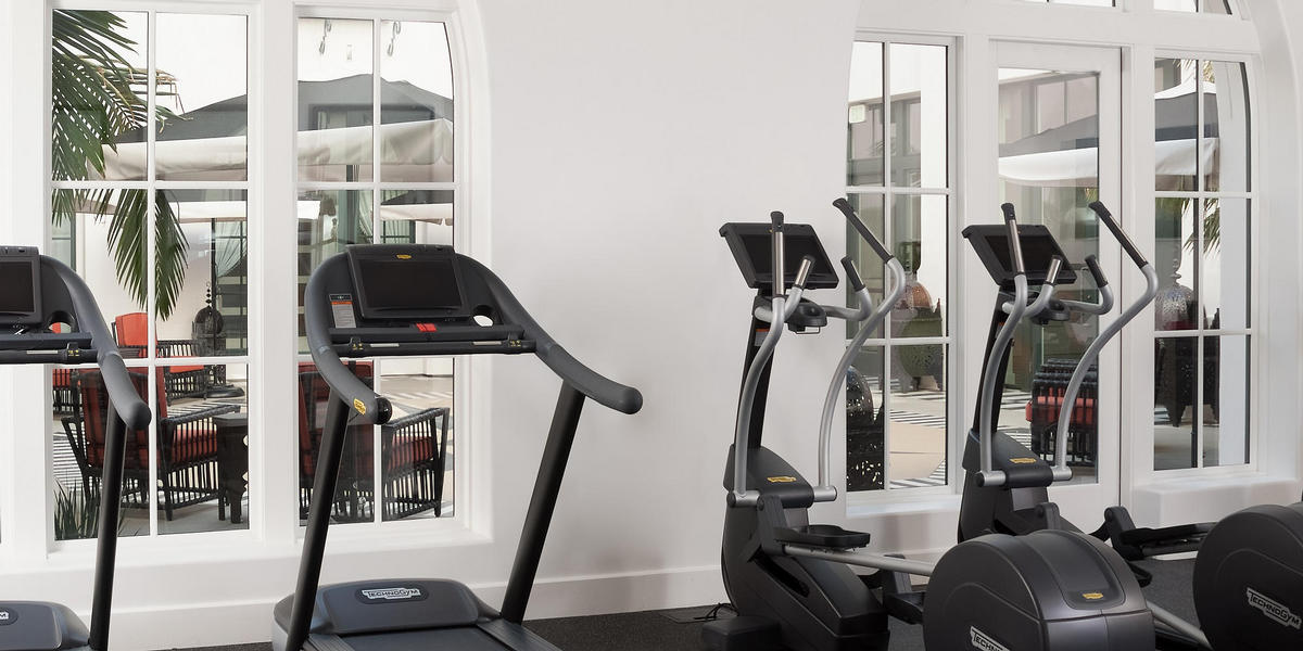 Hotel Californian Fitness Center